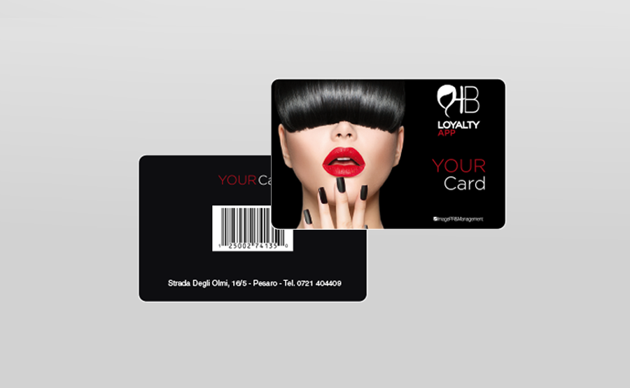personal card pvc