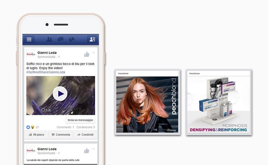 InserzionI pubblicitarie pagina Facebook