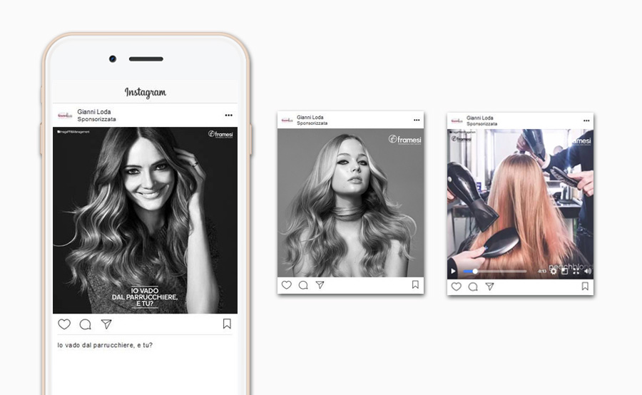 InserzionI pubblicitarie pagina Instagram